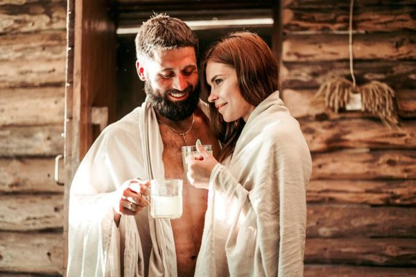 latvian bath ritual in kurzeme, latvia