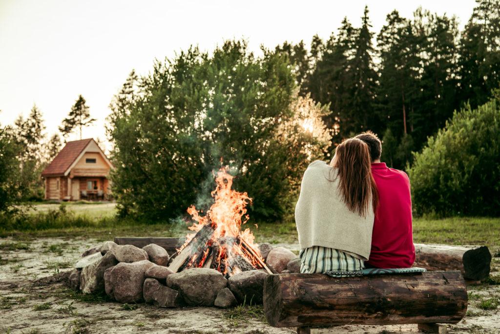 Romantiskās brīvdienas pie dabas @M