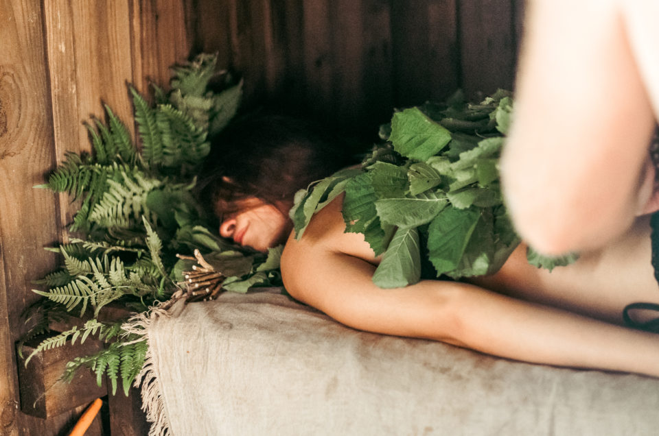 A forest spa recipe for attending a bath ritual