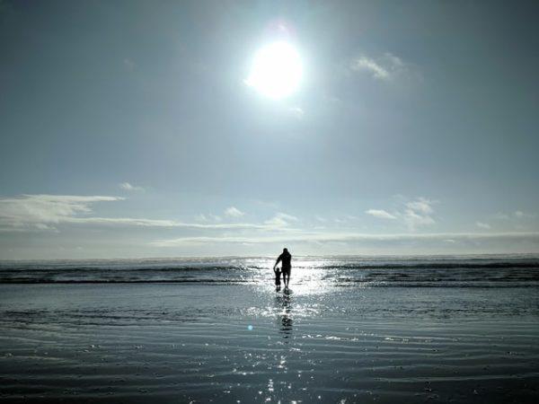 atpūta ar bērniem vasarā pie jūras kurzemē