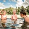 spa atpūta ar bērniem pie dabas kurzemē